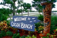 Coach Beach Welcome Sign