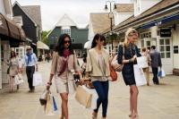 Bicester Village Women Walking