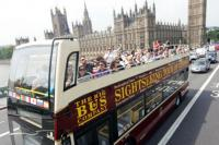 London Big Bus Houses of Parliment