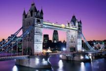 Blick auf die Tower Bridge London