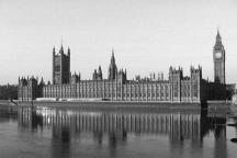 Houses of Parliament, one of Londons famous landmarks.
