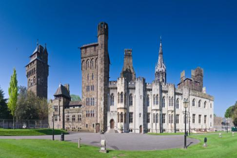 Cardiff Castle Wales