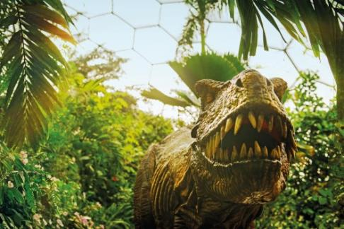 dinosaurs unleashed eden project 2014