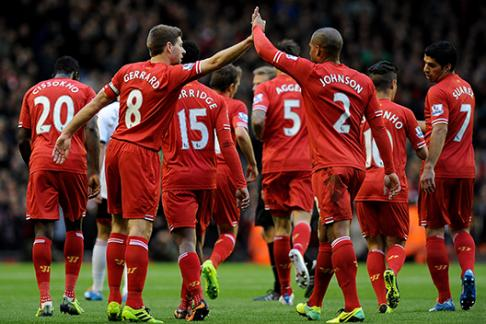 Liverpool FC Web Image - Team in game