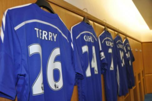 Chelsea Locker Room