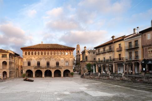 Poble Espanyol De Montjuic Square