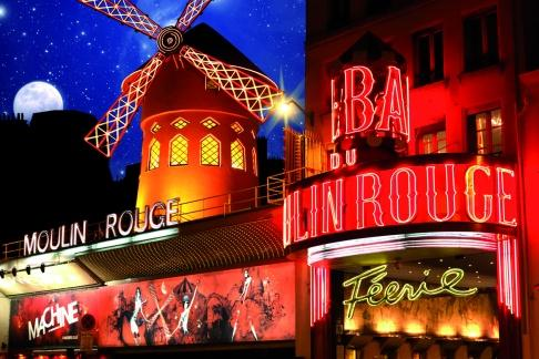 Moulin Rouge Paris Tickets The Moulin Rouge cabaret was built in , and is one of the best known landmarks in the city courtesy of the famous red windmill. The Moulin Rouge show is a must for visitors to Paris and with Discount Paris you can choose from a number of cheap tickets .