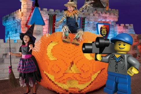 Brick or Treat at Legoland Windsor Resort and Theme Park