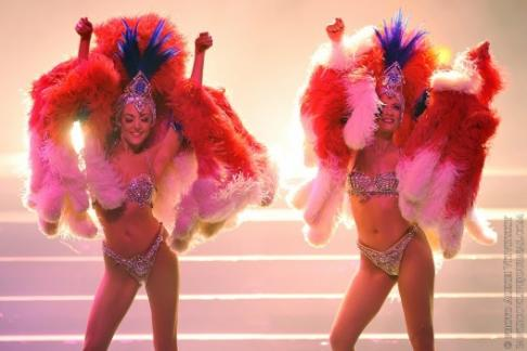 Dancers at the Lido de Paris