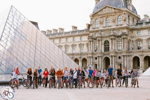 Click to view details and reviews for Fat Tire Tours Paris Night Bike Tour.