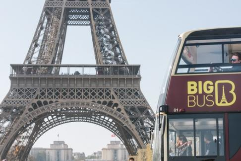 Image of Big Bus Paris - 1 Day Tour + Priority Entrance Louvre Ticket