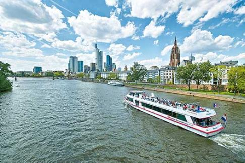 365Tickets DE Panoramafahrt mit dem Schiff durch Frankfurt
