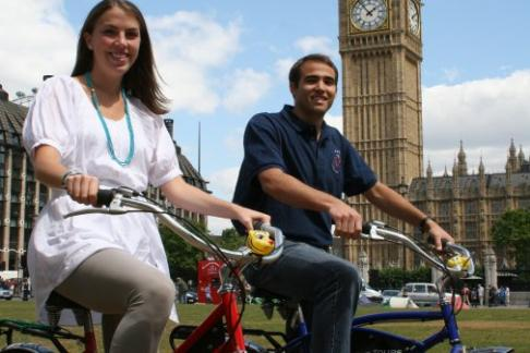 Click to view details and reviews for Fat Tire Bike Tours River Thames Night Bike Tour.