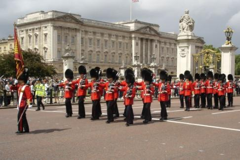 Majestic London Changing Guards