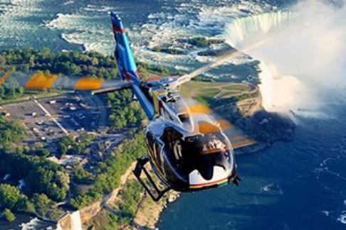 Cruises & Tours Niagara Helicopter - Helicopter Sightseeing Ride