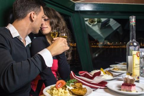Click to view details and reviews for Danube Late Night Cruise Dinner With Live Music Hotel Transfer.