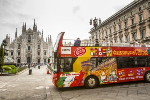 Image of City Sightseeing Milan - Hop on Hop off Tour