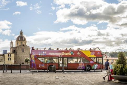 Image of City Sightseeing Florence - Hop on Hop off Tour
