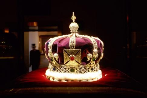 Towe of London Crown Jewels Crown