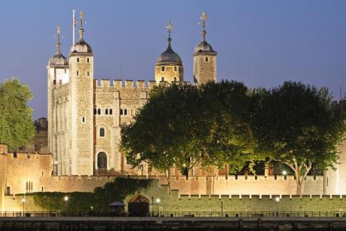 The Tower of London at Dusk