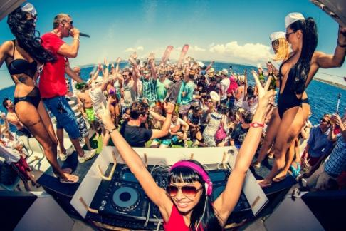 365Tickets IE Oceanbeat Ibiza Boat Party - All Inclusive