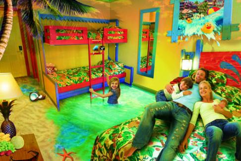 Alton Towers splash landings room hire