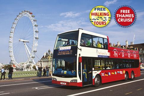Red Tour Bus Benidorm