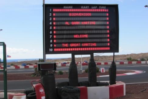 Image of Gran Karting Club Lanzarote - Admission