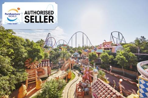 Portaventura® Park 1 Day Group Ticket Plus