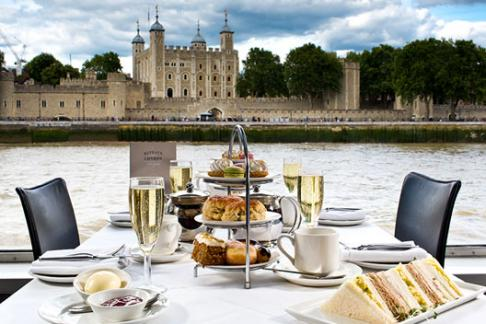 Image of Bateaux London - Afternoon Tea Cruise