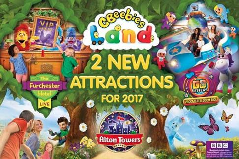 Image of Alton Towers Resort - 1 Day Ticket + Burger Kitchen Meal Deal
