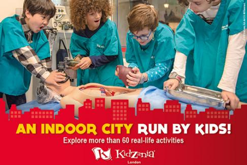Kidzania London Kew Gardens