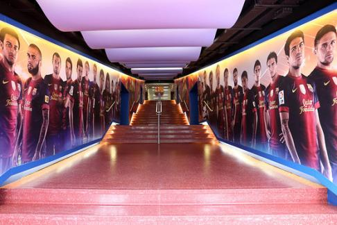 Nou Camp Tour Hall