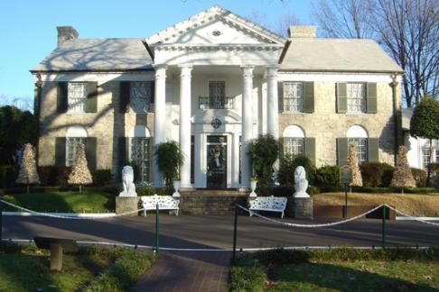 Graceland Elvis mansion