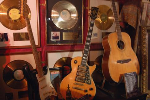 Hard Rock Cafe guitars