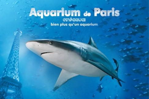 aquarium de paris cin aqua offres r ductions et billets pas chers acheter en ligne. Black Bedroom Furniture Sets. Home Design Ideas