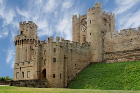 Warwick Castle Entrance and Battlements