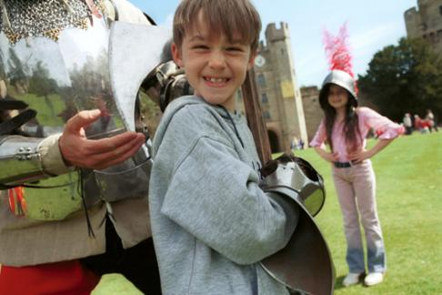 Warwick Castle Family Fun