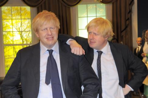 Madame Tussads Boris and Boris