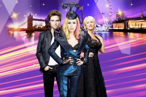 Lady Gaga, Dame Helen Mirren & R Patz at Madame Tussauds London