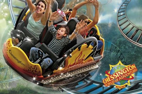 Chessington World of Adventures Zoo and Theme Park Dragons Fury