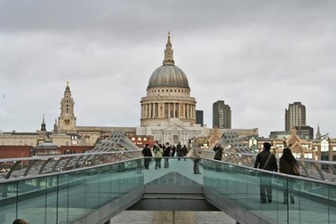 St Paul's and Millenium Bridge