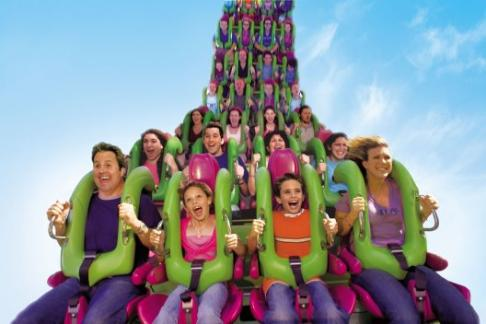 Universal Orlando Incredible Hulk roller coaster