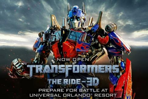 Universal Orlando Transformers