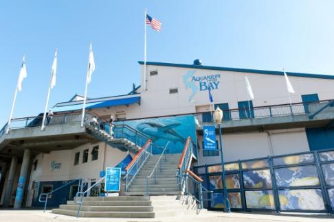 Aquarium of the Bay Entrance