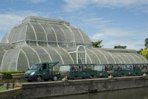 Kew Gardens Explorer and glass green house