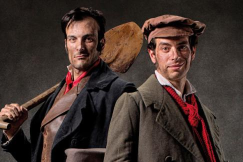 Burke & Hare at the Edinburgh Dungeons, get cheap tickets here