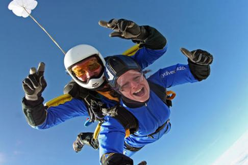 365Tickets Tandem Skydive in Northamptonshire