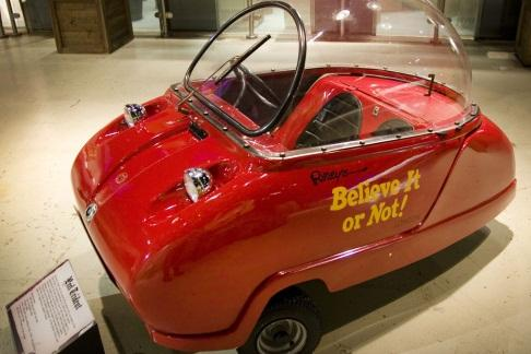 Ripleys peel car