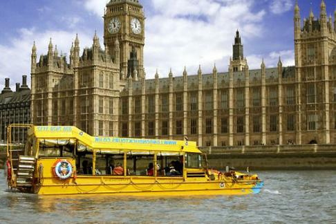Duck Tours Parliment